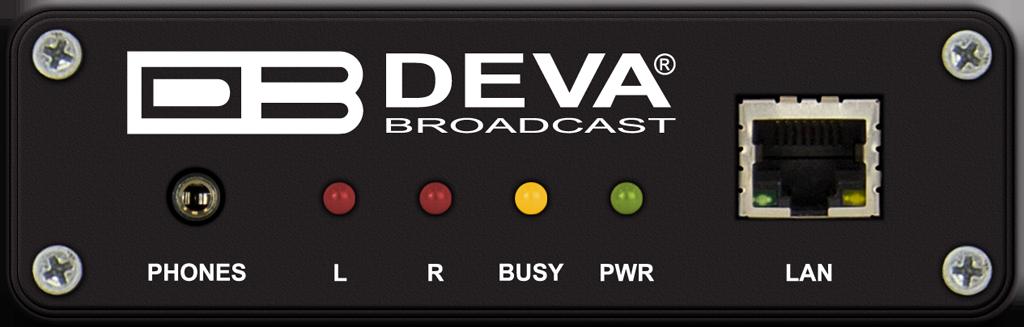 Deva DB90-RX. Decodificador de Audio IP