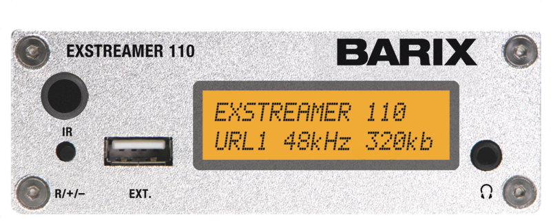 Barix ExStreamer Equipos codificación audio IP
