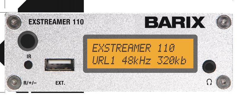 Barix ExStreamer Equipos codificación audio IP