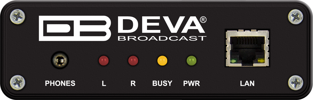 Deva DB90-TX. Codificador de Audio IP