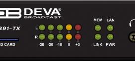DB91-TX Nuevo codificador de Deva Broadcast